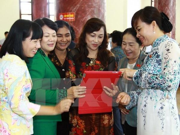 Promueven participacion femenina en organos politicos hinh anh 1