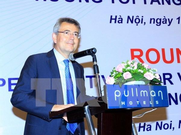 Vietnam y la OECD por impulsar crecimiento inclusivo hinh anh 1