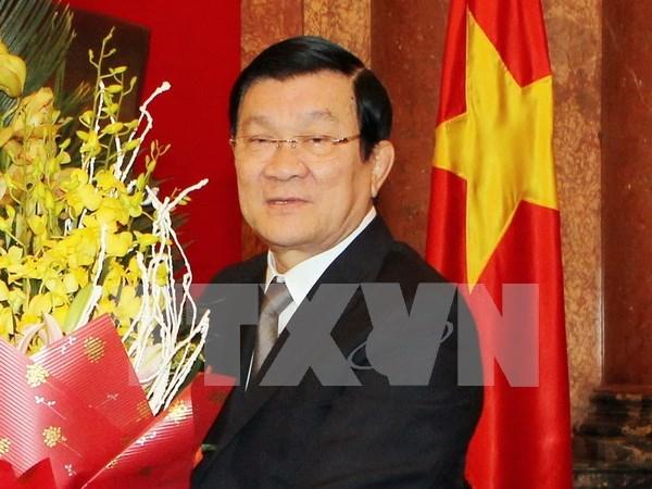 Presidente vietnamita efectuara visita estatal a Alemania hinh anh 1