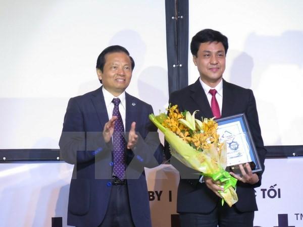Vietcombank, destacado banco minorista de 2015 hinh anh 1