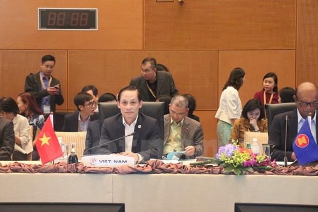 Reunion de funcionarios de alto nivel de ASEAN en Malasia hinh anh 1