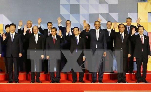 Presidente vietnamita conversa con diversos lideres mundiales en Filipinas hinh anh 1