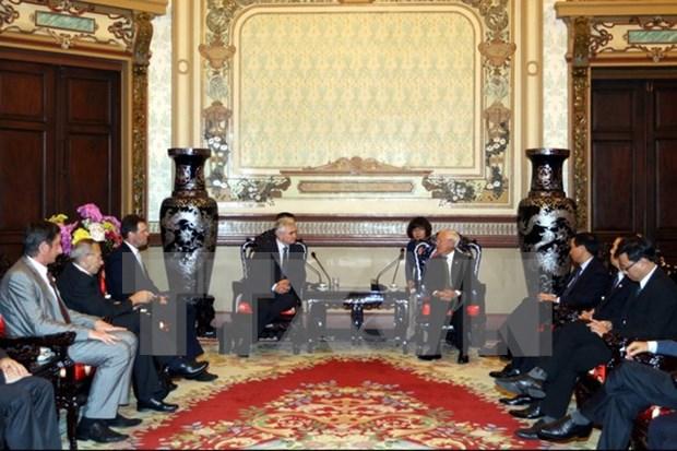Presidente del Senado checo finaliza visita a Vietnam hinh anh 1