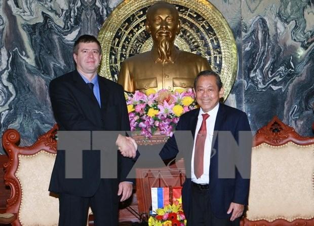 Dispuesta Rusia a intercambiar experiencias en campo judicial con Vietnam hinh anh 1