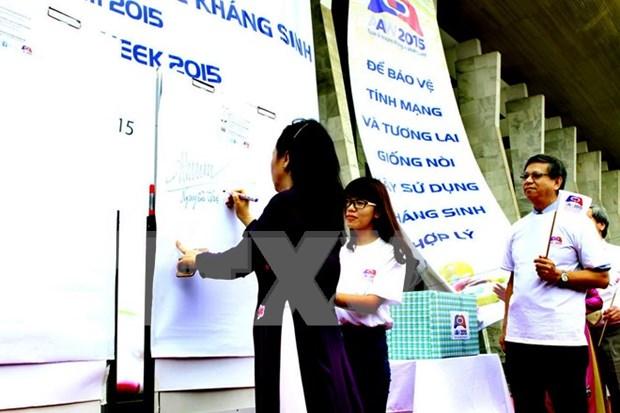 Vietnam actua contra la resistencia a medicamentos hinh anh 1