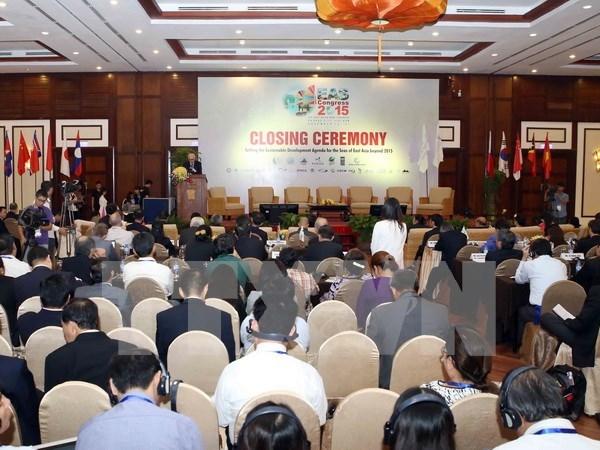 Clausura congreso internacional de mares de Asia Oriental hinh anh 1