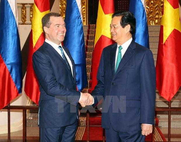Premier vietnamita se reune con lideres mundiales en Malasia hinh anh 1