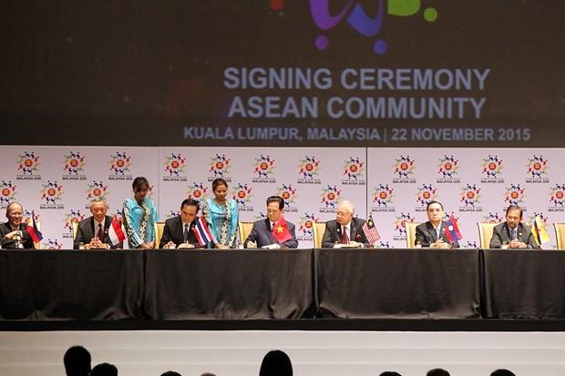 Ratifican Declaracion Kuala Lumpur sobre formacion de Comunidad de ASEAN hinh anh 1