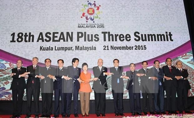 Premier malasio exhorta a mantenimiento de cooperacion ASEAN+3 hinh anh 1