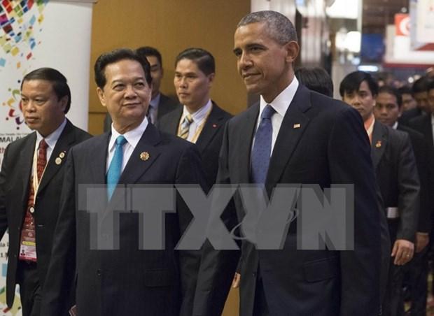Premier vietnamita se reune con lideres mundiales en Malasia hinh anh 2