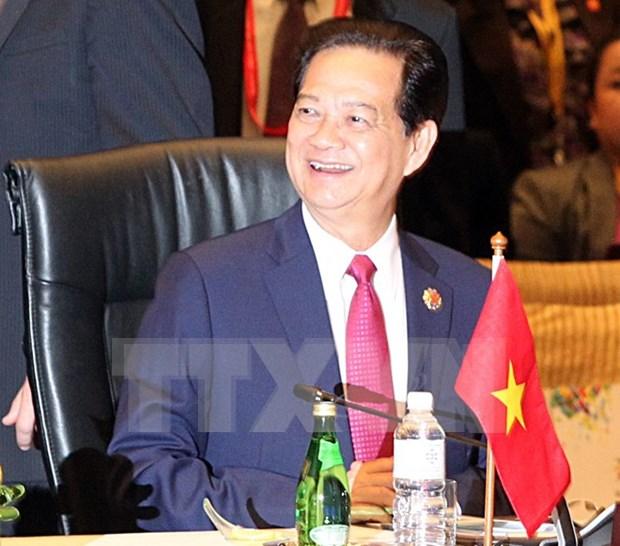 Premier vietnamita interviene en Cumbre de Asia Oriental hinh anh 1