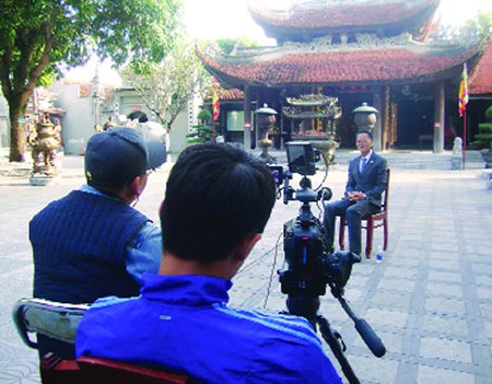 Descendientes de dinastia Ly de Vietnam aparecen en documental sudcoreano hinh anh 1