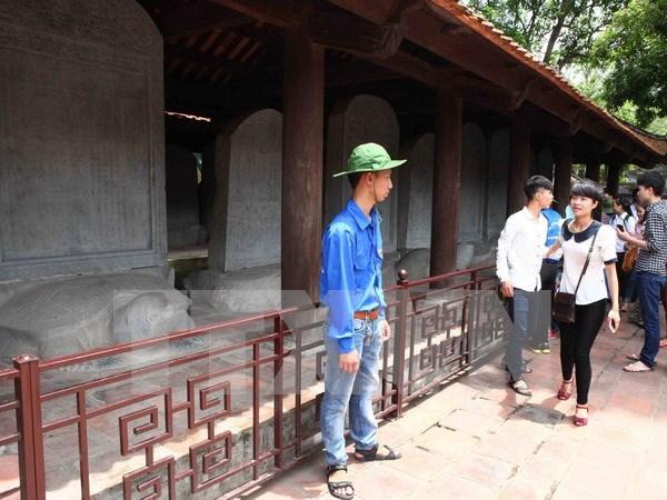 Reconocen en Vietnam a lapidas doctorales como tesoro nacional hinh anh 1