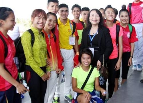 Vietnam obtiene cuatro preseas aureas en Juegos deportivos escolares de ASEAN hinh anh 1
