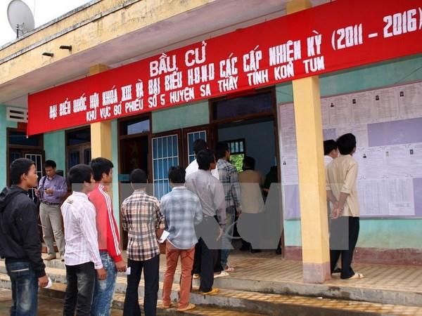 Fijan fecha para las elecciones parlamentarias en Vietnam hinh anh 1