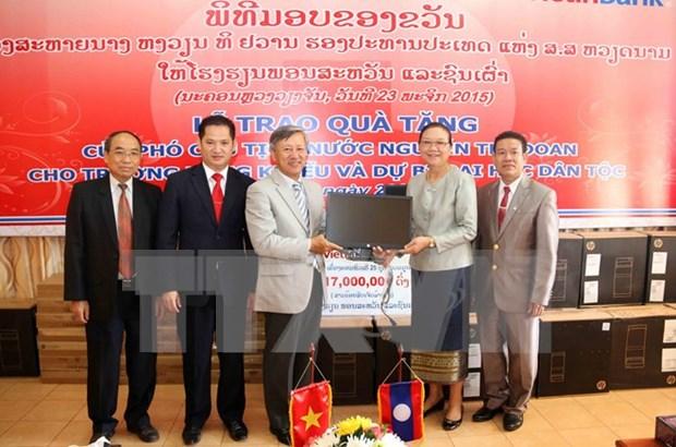 Asistencia vietnamita a Laos en desarrollo de educacion hinh anh 1