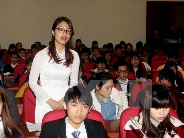Foro destinado a concientizar a jovenes sobre parlamento vietnamita hinh anh 1