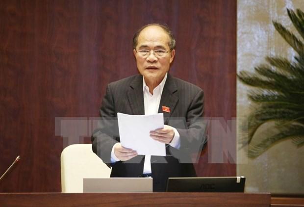 Nguyen Sinh Hung elegido como presidente de consejo nacional electoral hinh anh 1