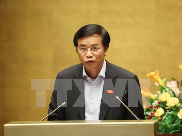 Parlamento avala lista de miembros de consejo nacional electoral hinh anh 1