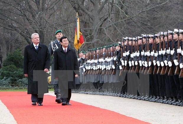 Vietnam y Alemania potencian asociacion estrategica hinh anh 1