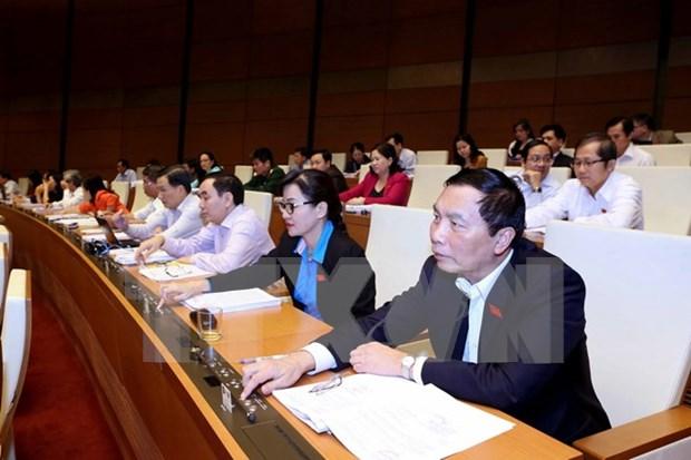 Autentifica Asamblea Nacional de Vietnam Ley de Referendum hinh anh 1