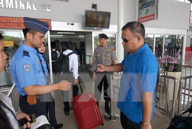 Indonesia redobla seguridad en aeropuertos tras amenaza terrorista hinh anh 1