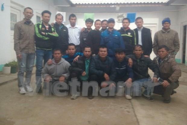 Retorna a Vietnam ultimo grupo de trabajadores nacionales en Argelia hinh anh 1