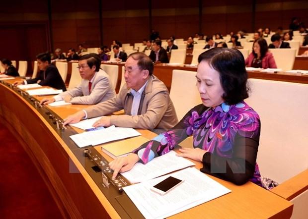 Asamblea Nacional aprueba importantes proyectos de ley hinh anh 1