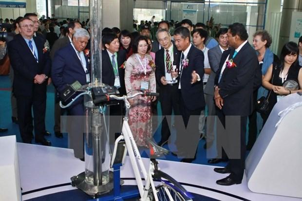 Efectuan exposiciones sobre sector hidrico y energia en Hanoi hinh anh 1