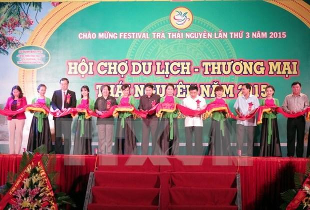 Inauguran tercer Festival del te de Thai Nguyen hinh anh 1