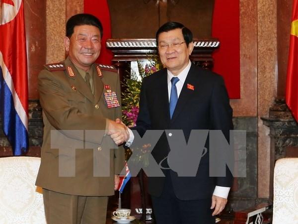 Presidente de Vietnam destaca amistad tradicional con Corea del Norte hinh anh 1