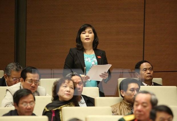 Parlamento vietnamita debate enmiendas a Ley de Prensa hinh anh 1