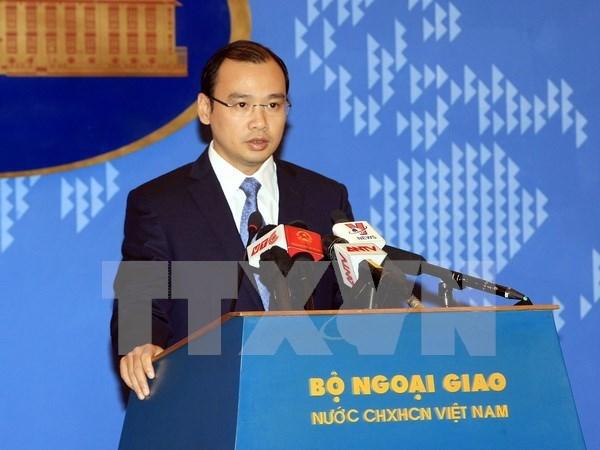 Vietnam se opone al uso de fuerza contra sus barcos, dice vocero hinh anh 1