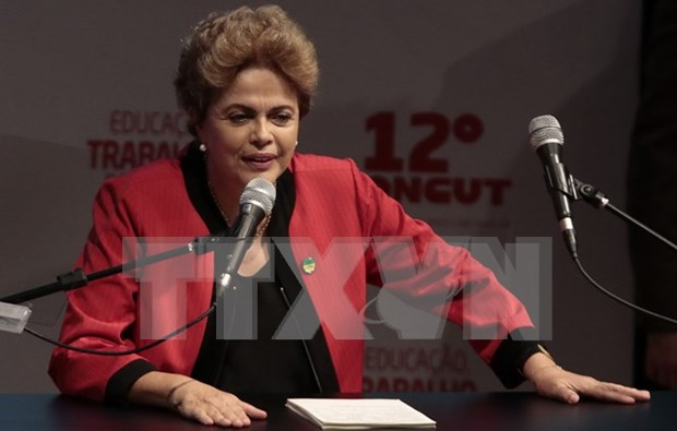 Visita de presidenta brasilena impulsara cooperacion integral con Vietnam hinh anh 1