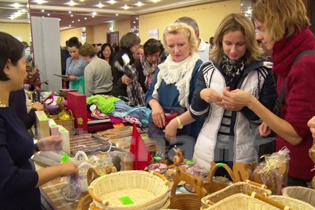 Vietnam asiste a mayor evento caritativo de Moscu hinh anh 1