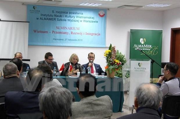 Organizan seminario sobre Vietnam en Polonia hinh anh 1