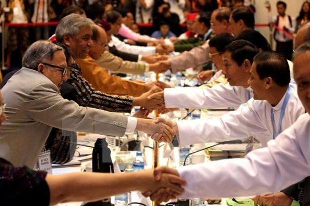 Myanmar elabora marco de dialogo de 10 puntos hinh anh 1
