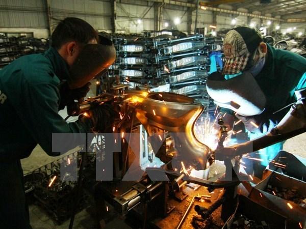 Produccion industrial vietnamita reporta alto crecimiento hinh anh 1
