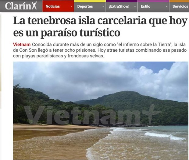 Isla Con Dao en la prensa argentina hinh anh 1