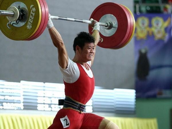 Halterofilia vietnamita asegura tres boletos a Juegos Olimpicos Rio 2016 hinh anh 1