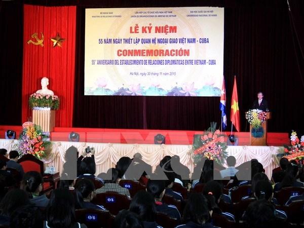 Orgullosos Cuba y Vietnam por fruto de 55 anos de hermandad ejemplar hinh anh 1