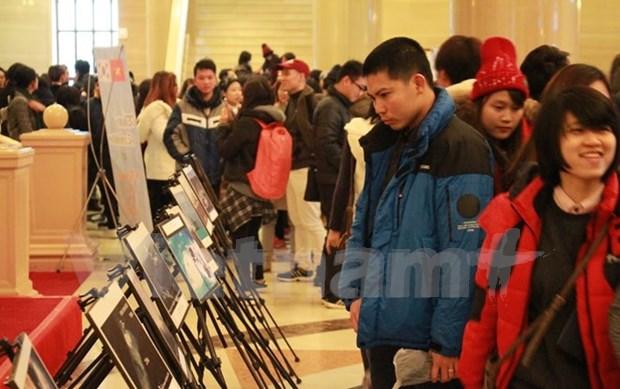 Exposicion de fotos muestra actos ilegales de China en Mar del Este hinh anh 1