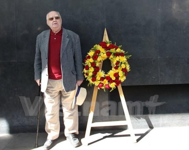 Fallece Len Aldis, un amigo entranable de los vietnamitas y victimas de dioxina hinh anh 1