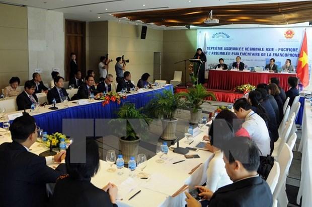Inauguran Conferencia de Asamblea Parlamentaria de Francofonia de Asia Pacifico hinh anh 1
