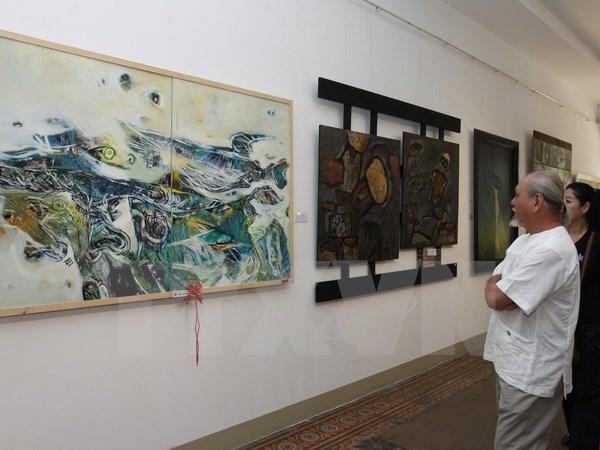 Exhibicion sobre legado literario del gran poeta Nguyen Du hinh anh 1