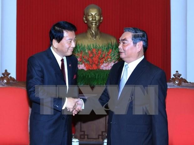 Prioriza Vietnam fortalecimiento de relaciones con Japon hinh anh 1