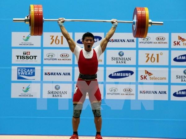 Enviara Vietnam tres atletas de halterofilia a juegos olimpicos 2016 hinh anh 1