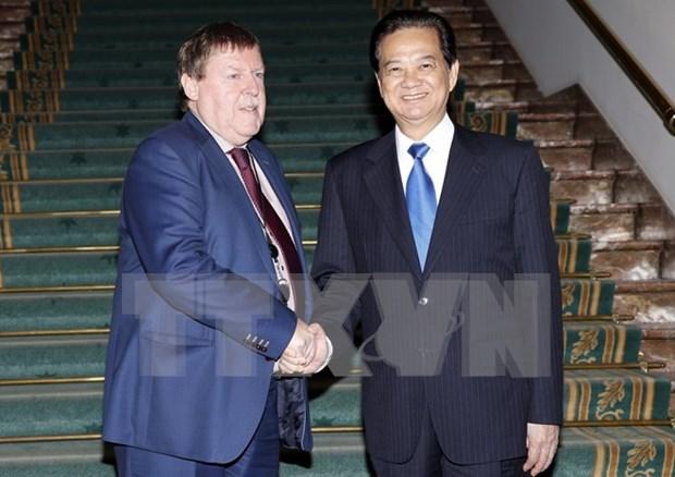 Parlamento belga respalda reconocimiento de economia de mercado de Vietnam hinh anh 1