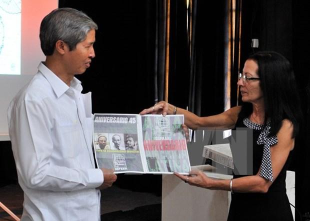 Celebran en La Habana aniversario de relaciones Vietnam-Cuba hinh anh 1