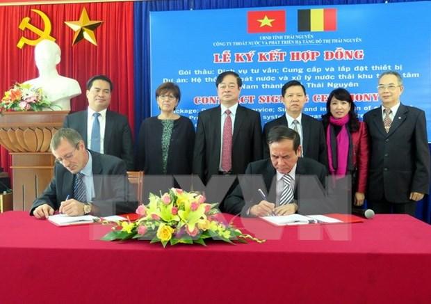 Belgica financia al proyecto de tratamiento de aguas residuales en Vietnam hinh anh 1